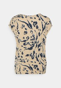 Vero Moda - VMAVA PLAIN - T-shirt med print - khaki/brown - 6