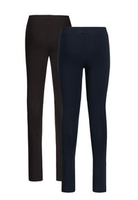 WE Fashion - 2 PACK - Legging - blue black - 1