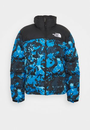 1996 RETRO NUPTSE JACKET - Dunjacka - clear lake blue himalayan