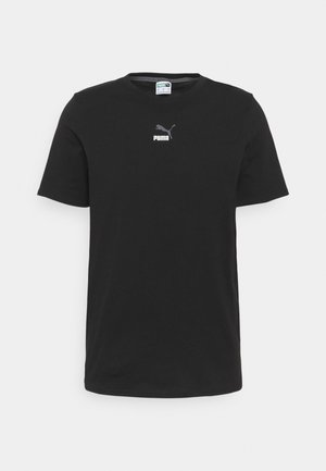 ELEVATE TAPE TEE - Print T-shirt - black