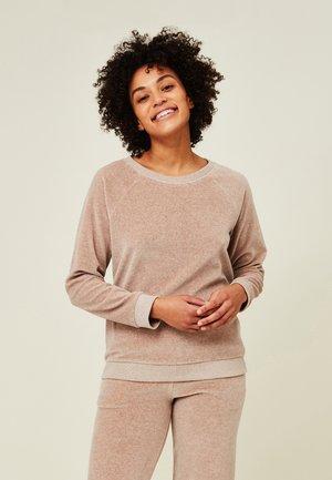 MARTHA VELOUR  - Sweater - light brown melange