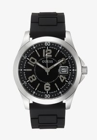 Guess - UNISEX SPORT DATE - Watch - black/silver-coloured - 0