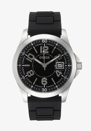 UNISEX SPORT DATE - Montre - black/silver-coloured