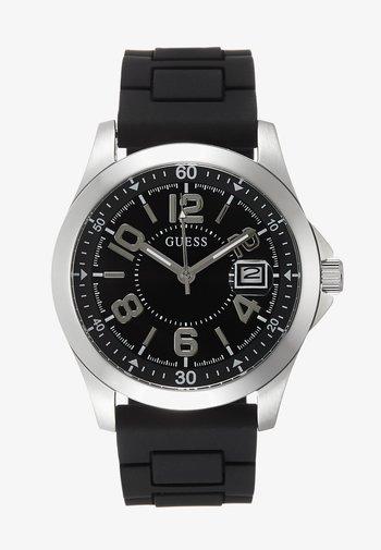 UNISEX SPORT DATE - Watch - black/silver-coloured