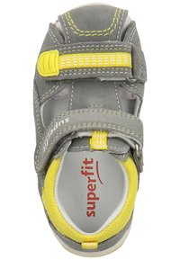 Superfit - Baby shoes - grey/yellow - 1