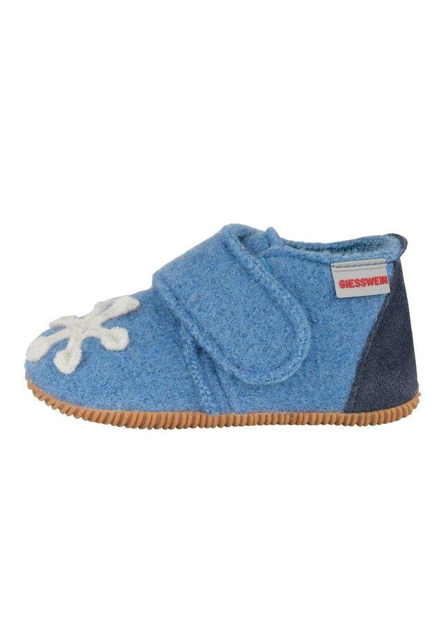 Chaussons pour bébé - mittelblau
