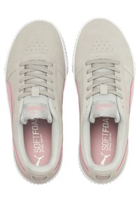 Puma - CARINA YOUTH - Trainers - gray violet-bridal rose - 1