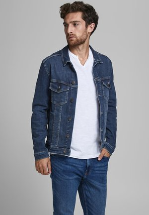 Denim jacket - dark blue denim