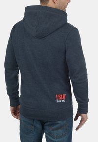 Solid - BENN  - Zip-up hoodie - blue melange - 1