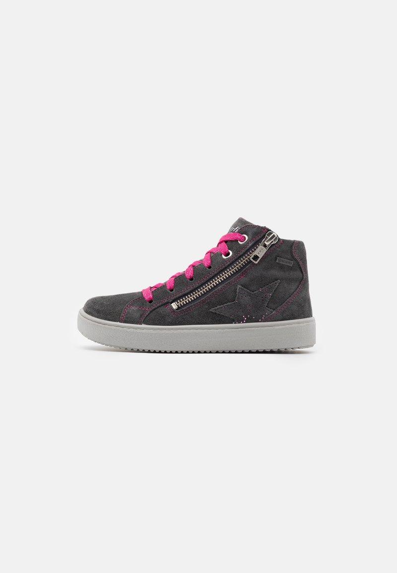 Superfit - HEAVEN - Sneakersy wysokie - grau/rosa