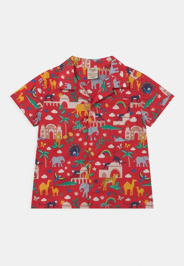 HARVEY HAWAIIAN - Camicia - true red india