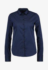 Mos Mosh - TILDA - Button-down blouse - navy - 5
