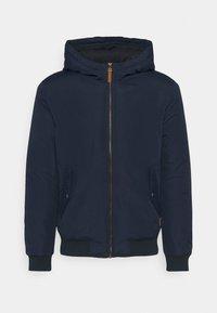 Jack & Jones - JJFLYNN HODDED BOMBER - Light jacket - navy blazer - 4