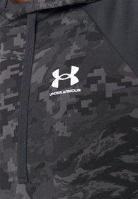 Under Armour - RIVAL CAMO SCRIPT - Sweatshirt - black - 5