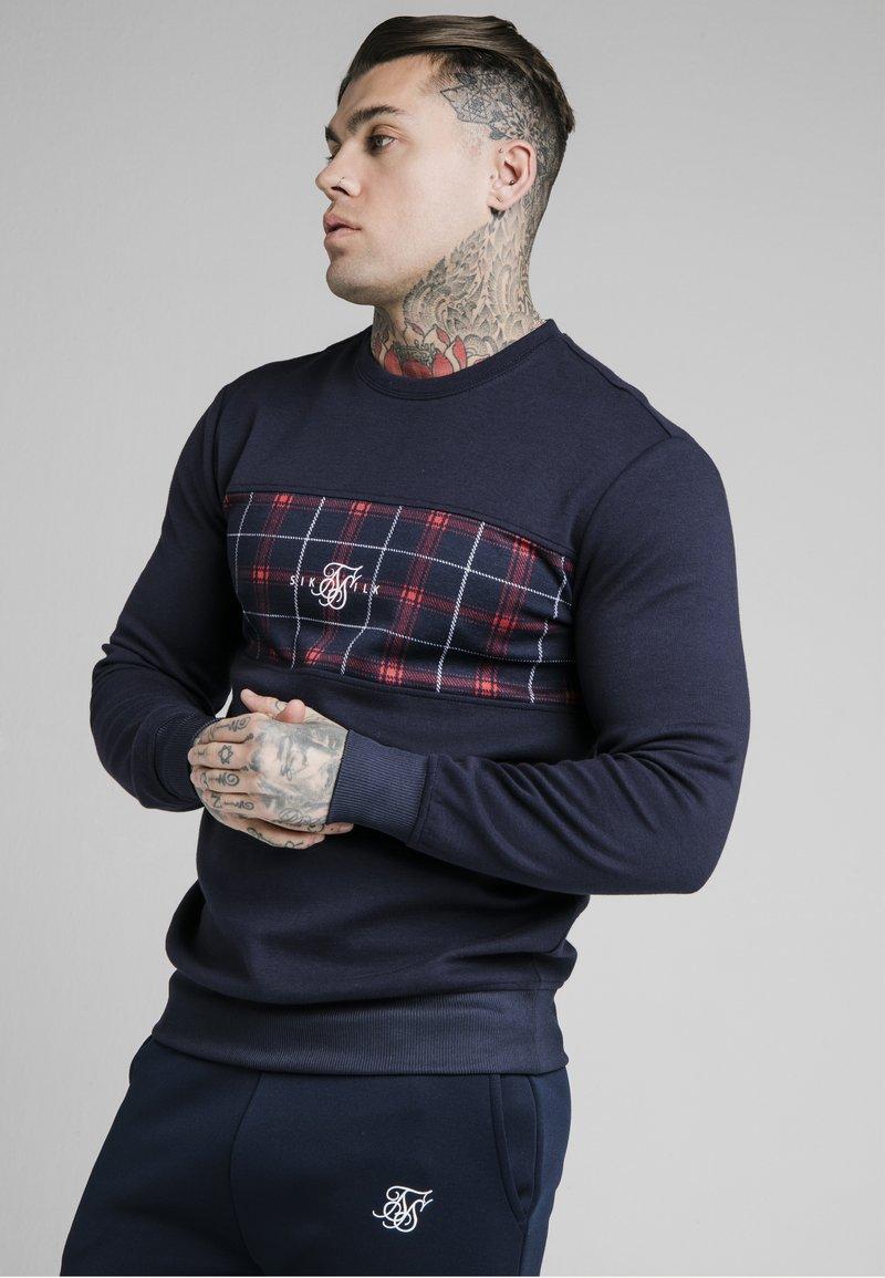 SIKSILK - CREW - Maglietta a manica lunga - navy