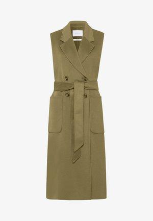 BORAGE BLOOM - Waistcoat - olive