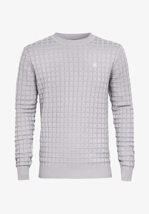 CORE TABLE ROUND LONG SLEEVE - Jumper - steel grey