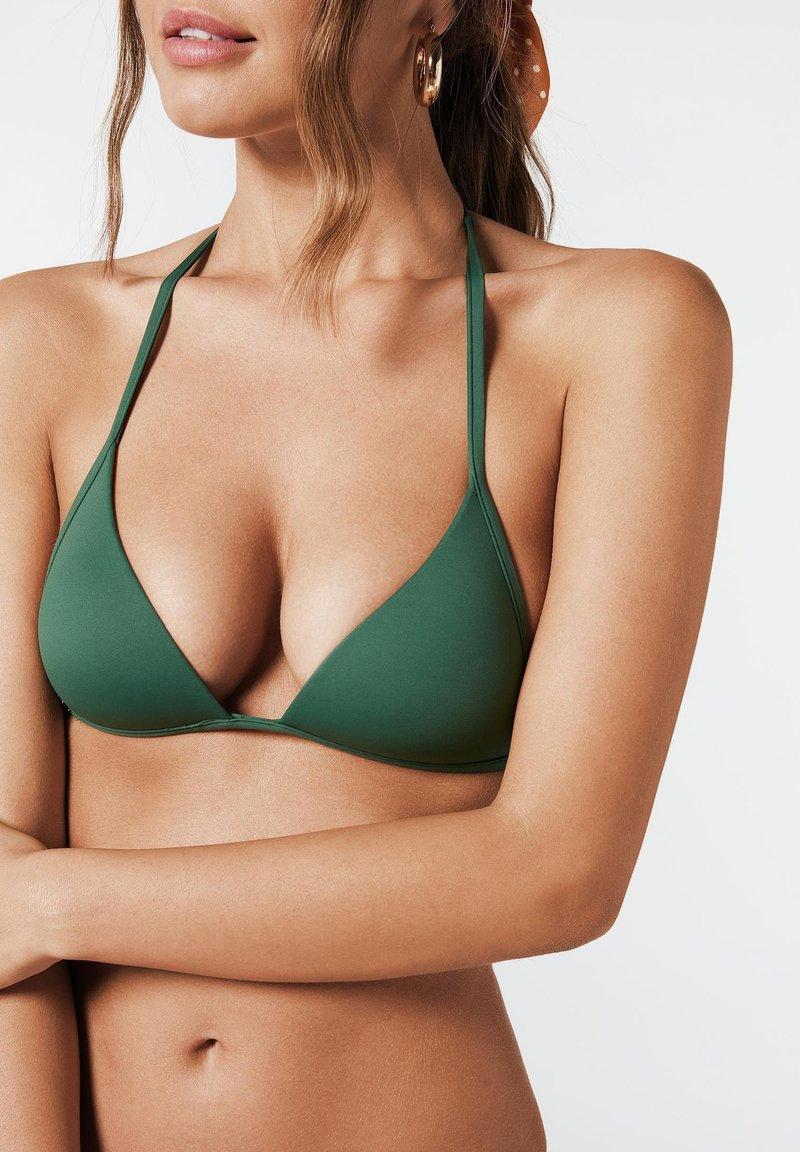 Calzedonia - INDONESIA - Bikini top - grün - 175c - palm green
