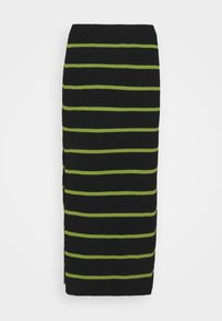 The Ragged Priest - SHOUT SKIRT - Pencil skirt - black/lime - 1