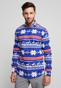 OppoSuits - THE RUDOLPH TAILORED FIT - Shirt - blue - 0