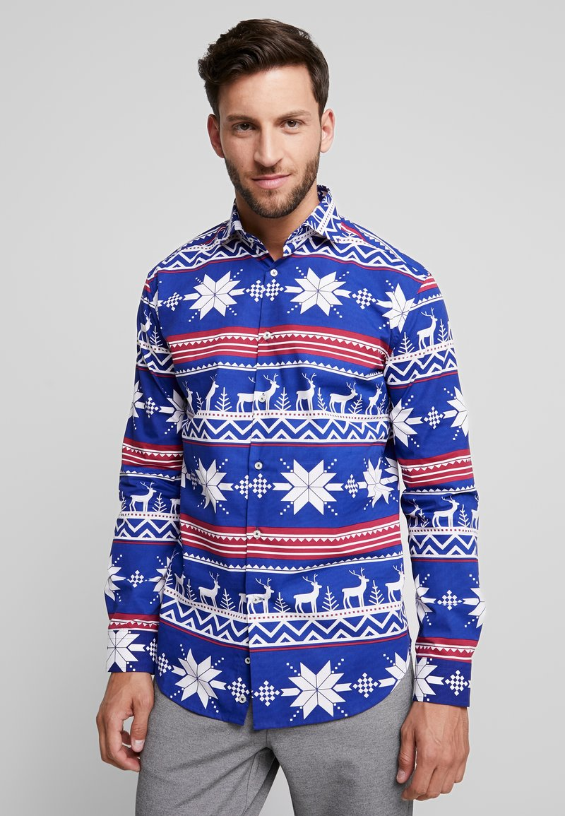 OppoSuits - THE RUDOLPH TAILORED FIT - Shirt - blue