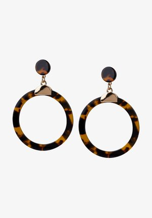 Earrings - tortoise