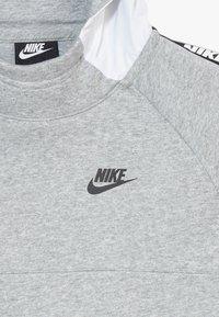Nike Sportswear - HYBRID  - Hoodie - white/black/dark grey heather - 2