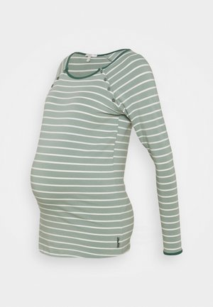 Long sleeved top - frosty green