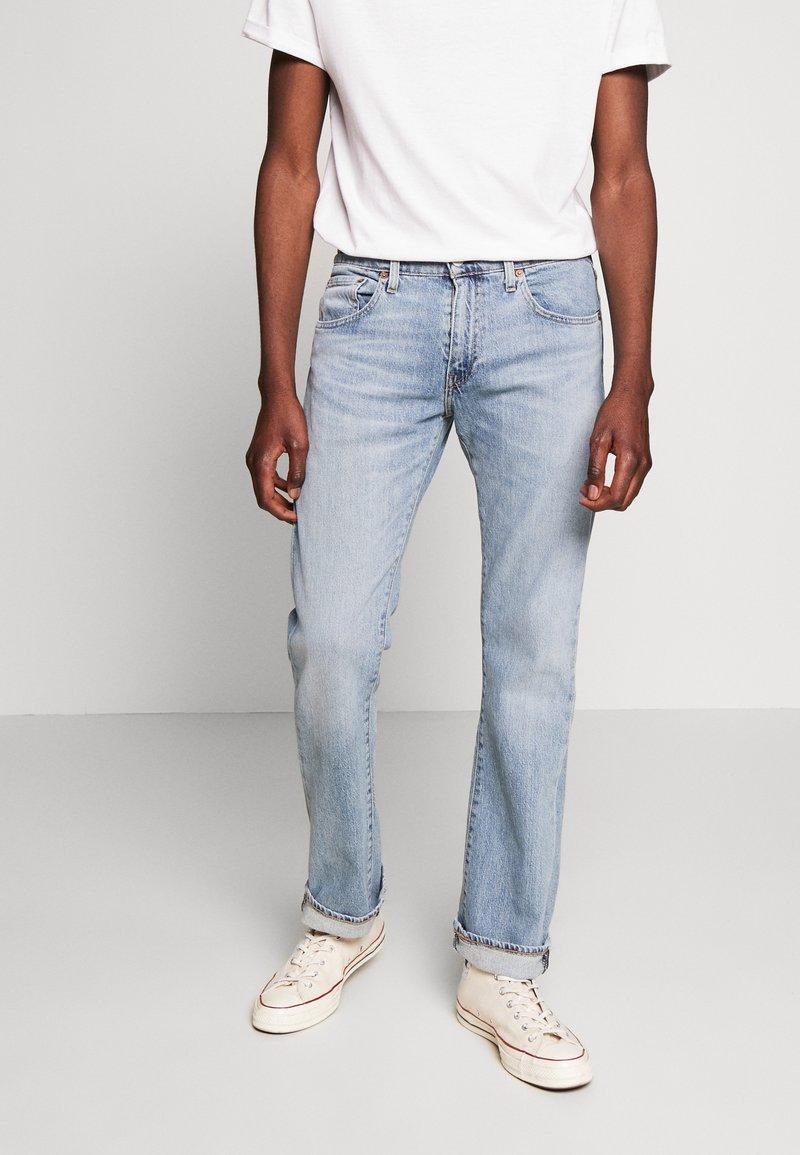 Levi's® - 527™ SLIM BOOT CUT - Bootcut jeans - fennel subtle