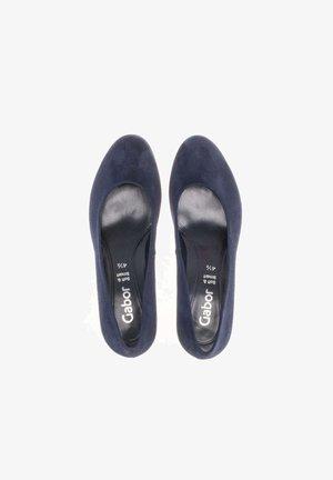 PLATEAU  - Classic heels - blau