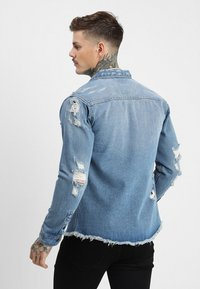 Redefined Rebel - JACKSON JACKET - Koszula - light blue - 2
