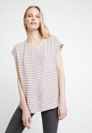 SPORTY BLOUSE - Blouse - off white/rose