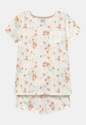 SHORT ALLOVER - Pyjama set - white pebble