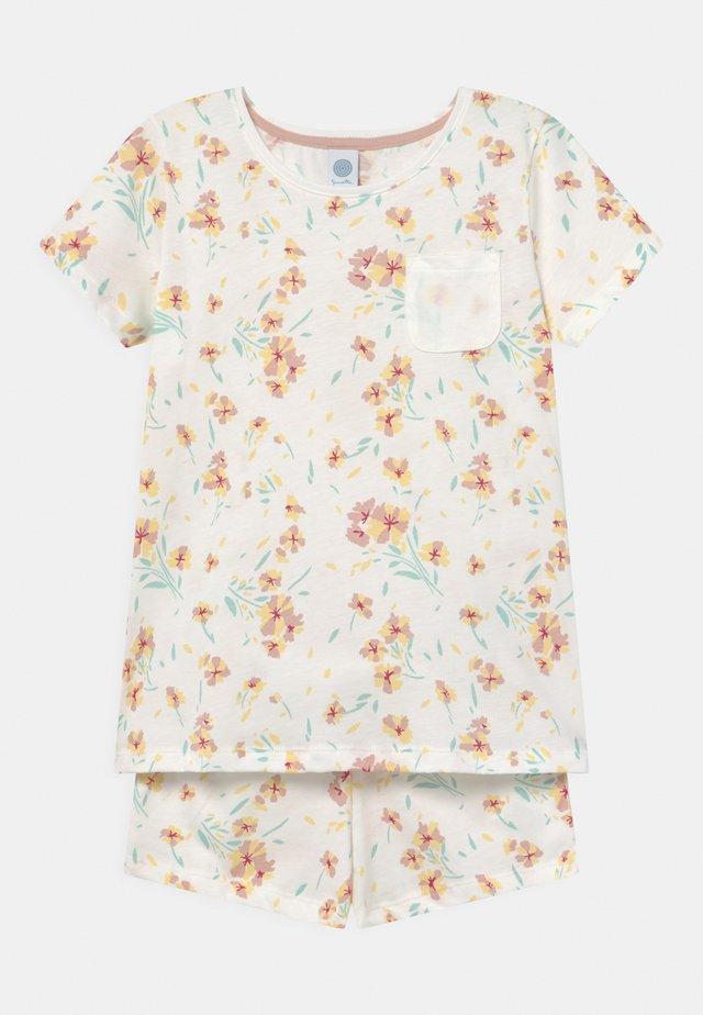 SHORT ALLOVER - Pyžamová sada - white pebble