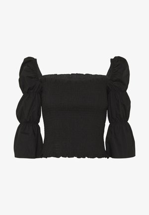 LAURA - Blouse - jet black