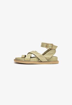 T-bar sandals - olive olv