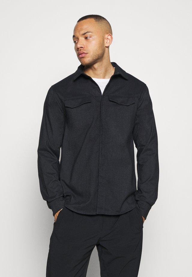 LATTIS MENS - Camicia - black