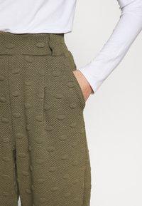 ONLY - ONLKIMBERLY JOYCE PANT - Trousers - kalamata - 4