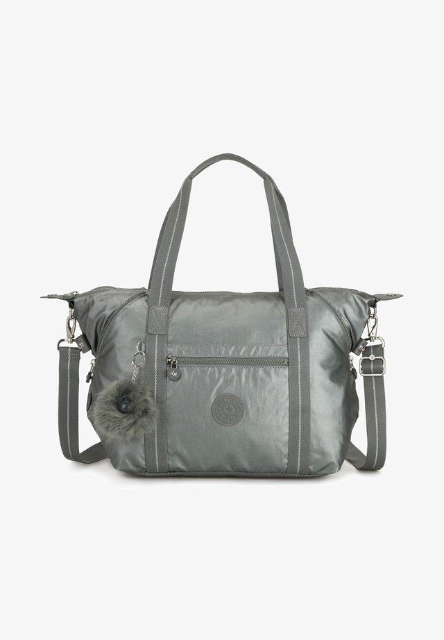 BASIC PLUS EYES WIDE OPEN ART  - Handbag - metallic stony