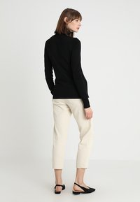 Saint Tropez - ROLL NECK - Svetr - black - 2