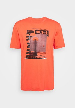 BASKETBALL PHOTOREAL - T-shirt imprimé - coralle