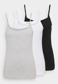 Anna Field Tall - 3 PACK - Toppi - black/white/grey - 0