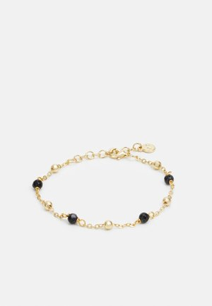 BREY SMALL CHAIN BRACE - Armband - gold-coloured/black