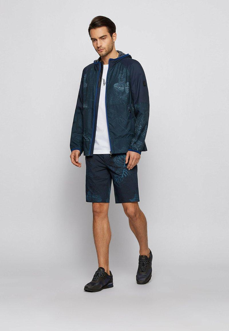 BOSS - PARKOUR RUNN ME - Sneaker low - dark blue