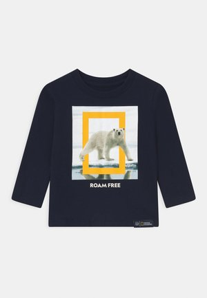 TODDLER BOY NATIONAL GEOGRAPHIC  - Long sleeved top - tapestry navy