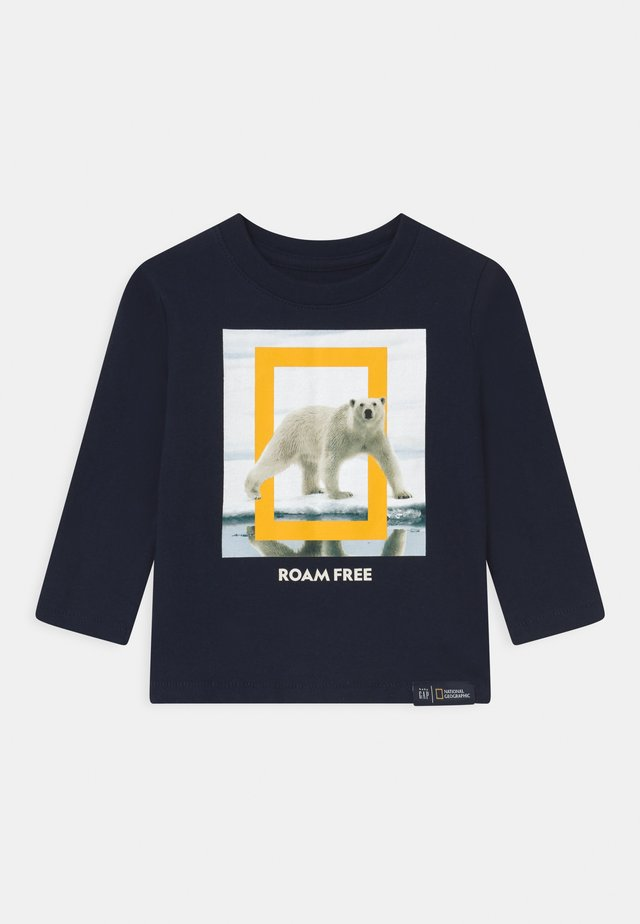TODDLER BOY NATIONAL GEOGRAPHIC  - Maglietta a manica lunga - tapestry navy