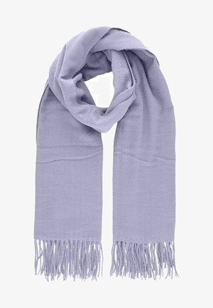 Scarf - purple heather