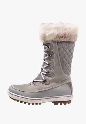 GARIBALDI - Winter boots - light grey/alloy/nimbu