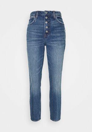 DEST SODA CURVY - Jeans Skinny Fit - dark-blue denim