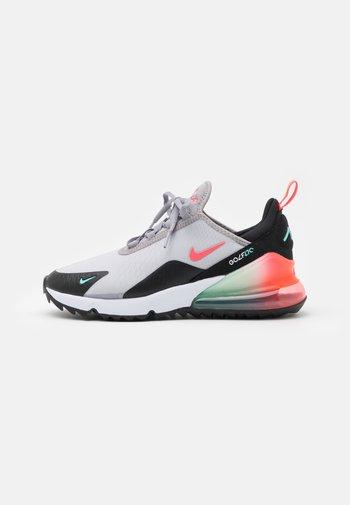AIR MAX 270 G - Zapatos de golf - atmosphere grey/hot punch/white/black